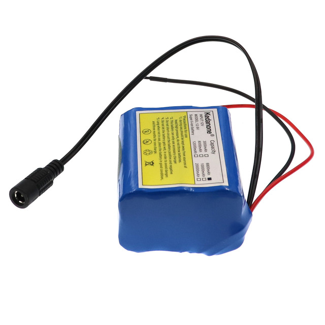 12V 6800mah battery 18650 Li-ion 6.8 Ah Rechargeable batteries  with BMS Lithium Battery packs Protection Board +12.6V Charger 5