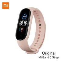Xiaomi-pulsera inteligente Mi Band 5, Original, rosa, limitada, verde, Compatible con Mi Smart Band 5, NFC