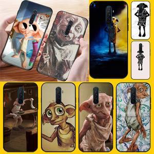 PENGHUWAN potter movie Dobby Soft black Phone Case for OPPO Reno2 Z R15 pro R17 R11 R15 R9S Plus R9