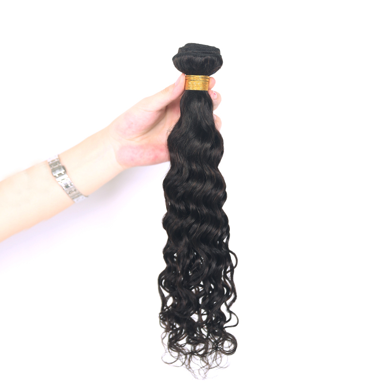 Water Wave Hair Bundles Euphoria Peruvian Hair Weave Bundles 1 Piece Natural Color 100% Remy Human Bundle Hair Weft Extensions