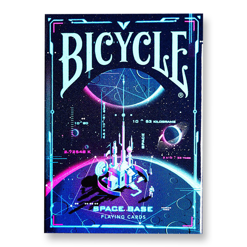 Bicycle Space Base Playing Cards Explore Universe Deck Poker Size USPCC Magic Card Games Magic Props Magic Tricks For Magician