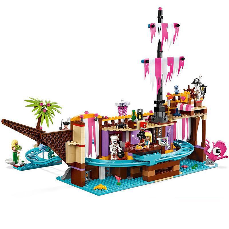 New 2019 Heartlake City Amusement Park Fit Lepining Girls Friends 41375 Set Building Block Bricks Toys For Girl Christmas Gift