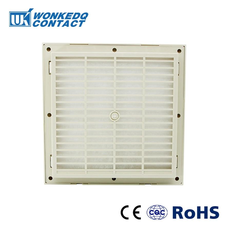Cabinet  Ventilation Filter Set Shutters Cover  Fan Grille Louvers Blower Exhaust Fan Filter FK-3323-300 Filter Without Fan