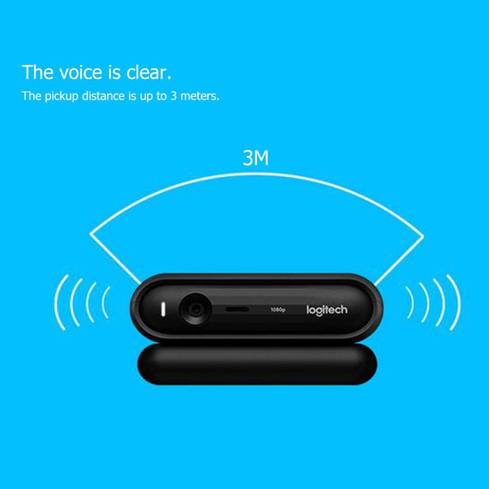 Logitech C670i 1080p HD Webcam Microphone caméra en direct Streaming Web caméra avec Microphone grand angle Image claire - 2