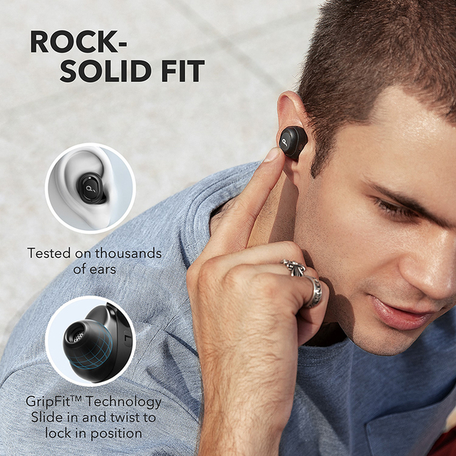Anker Soundcore Liberty Neo TWS True Wireless Earphones With Bluetooth 5.0, Sports Sweatproof, and Noise Isolation,2019 Upgraded 4