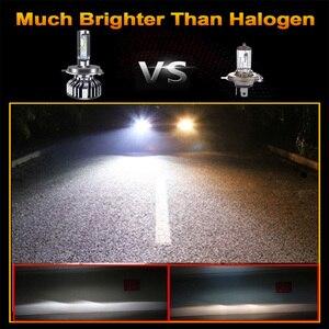 BAISHIDE Автомобильные фары H4 светодиодный H7 16000LM H11 Светодиодный фонарь для автомобильных фар лампы H1 H8 H9 9005 9006 HB3 HB4 Turbo H7 светодиодный 12 В 24 В