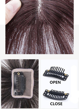 Halo Lady Beauty Clip In Bangs Human Hair Air Bang Brazilian Hair Pieces Invisible Seamless Non-remy Replacement Hair Wig 4