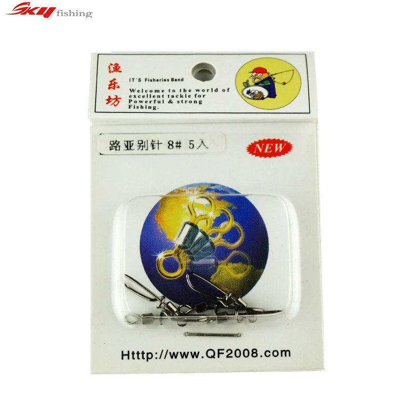 Professionals/Lures Brooch Connector With Rotating Ring A Safety Pin Fishing Tackle Accessories