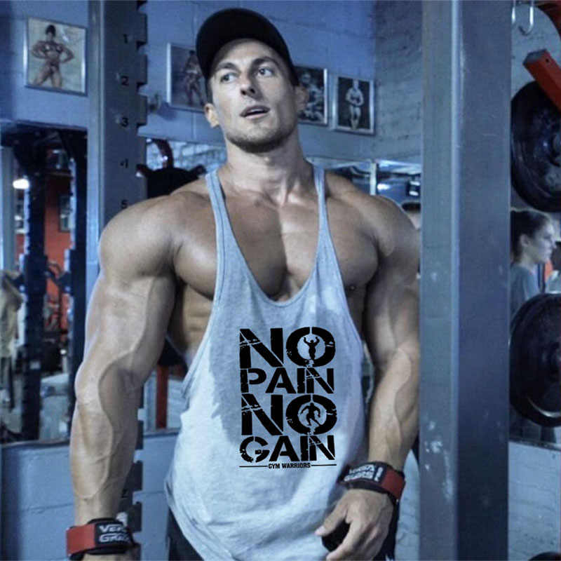 Brand Bodybuilding Stringer Tank Tops Mens Sportwear Vest Fitness Men gyms Clothing sleeveless shirts Muscle singlets