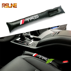 1 Uds para espacio de asiento relleno almohadilla suave acolchado espaciador para Toyota CROWN REIZ carreras TRD LOGO neumático coche pegatinas de diseño para la decoración del coche
