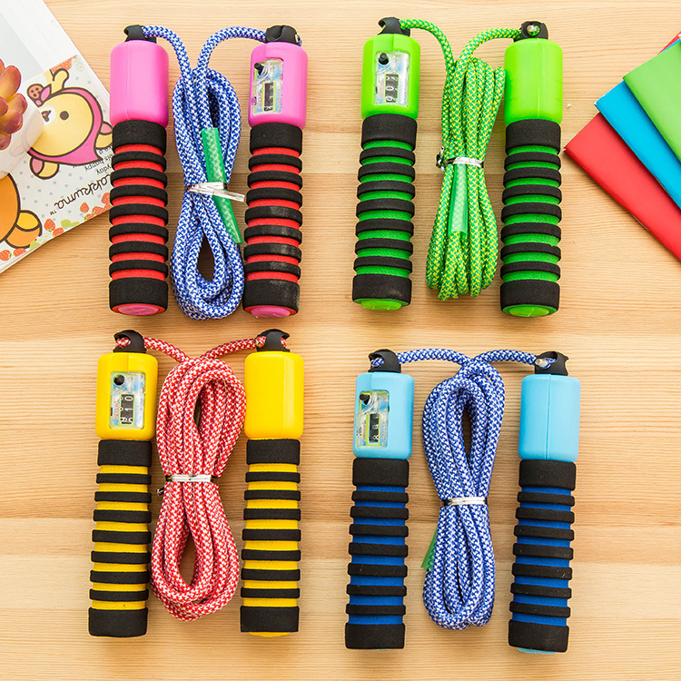 2019-815 Electronic Counting Jump Rope Stripes Pattern Tiaoshen Rope Students The Academic Test For The Junior High School Stude
