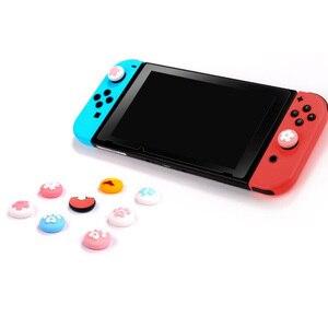 Image 4 - غطاء عصا التحكم لجهاز Nintendo Switch Lite ، مخلب القط اللطيف ، الكرز ، زهرة الإبهام ، غطاء وحدة التحكم