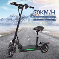 Halo Knight EU Stock Quality Off Road 60V Electric Scooter Halo Knight Foldable 2400W 70km/H E Scooter For Adults