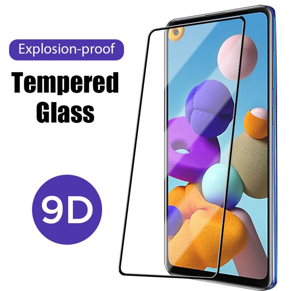 9D премиум класса, закаленное стекло для Samsung Galaxy A50 A40 A30 A20 A52 A10S A80 A71 5G, Защитное стекло для экрана для Samsung A90 5G A70 A60 A80