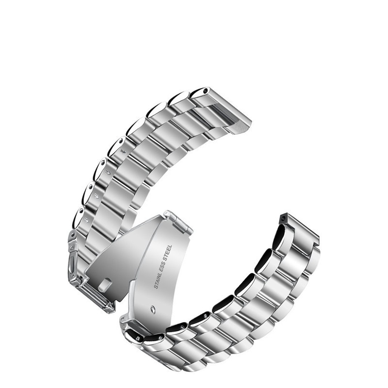 New Metal Strap For Fitbit Versa band women strap with pin Screwless Stainless Steel Bracelet Wristbands Replacement Accessories in Smart Accessories from Consumer Electronics