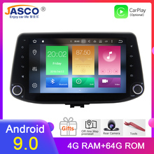 4GB Android 9.0 Car Stereo DVD Player GPS Glonass Navigation For Hyundai i30 2016 2017 Video Multimedia Radio headunit octa core 4gb ram android 8 0 car dvd gps navigation multimedia player stereo for hyundai i10 2014 2015 radio headunit