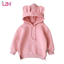Hoodies Sweatshirt Girls Baby Kids LZH Toddler Newborn Winter for Tops Infantil Coat