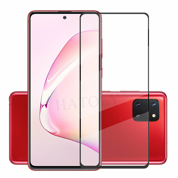 For Glass Samsung Galaxy Note10 Lite Tempered Glass Phone Screen Protector HD Full Glue Protective Glass on Samsung Note 10 Lite protective tempered glass screen protector for samsung galaxy note 2 n7100 transparent