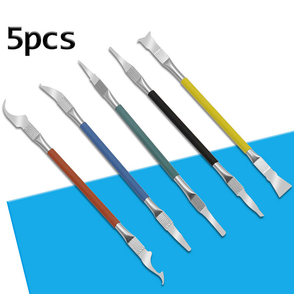 IC CPU NAND Removal Tool Graver Blade Glue Cleaning Remover Pry Knife Phone Repair Tool For IPhone Motherboard BGA Maintenance