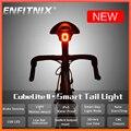 Новый ENFITNIX Cubelite 2 велосипеда вспышка светильник велосипед задний смарт-хвост светильник тормозной сенсор Водонепроницаемый Светодиодный д...