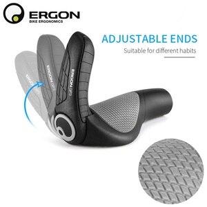 Image 4 - Uchwyty do kierownicy roweru górskiego ERGON GP1 GP3 GP5 uchwyt do mocowania roweru uchwyt do mocowania uchwytu ergonomia gumowa blokada rowerowa