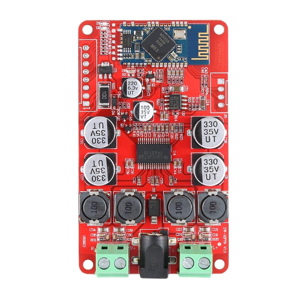 TPA3110 Power Amplifier Board High Power Digital Power Amplifier Board 2X15W Two Channel HF82 Durable