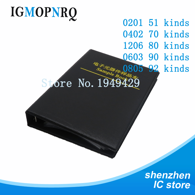 1 book 0201 0402 0603 0805 0402 SMD chip <font><b>capacitor</b></font> combination kit 0.5 ~ 10 uf <font><b>pF</b></font> <font><b>capacitor</b></font> sample book all <font><b>capacitor</b></font> sales image