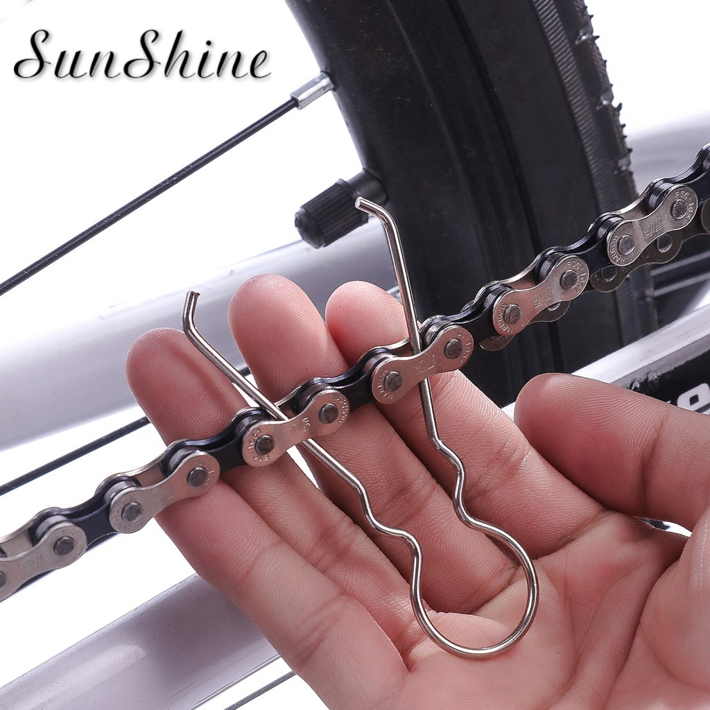 Steel Cycling Bike Bicycle Connecting Chain Link Chain Hooks Repair Tools