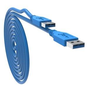 Image 5 - سرعة سريعة USB3.0 تمديد كابل نوع الذكور إلى نوع ذكر الحبل 0.5 متر 1 متر كابل يو اس بي ل المبرد كاميرا ويب سيارة MP3 كاميرا USB Cabo