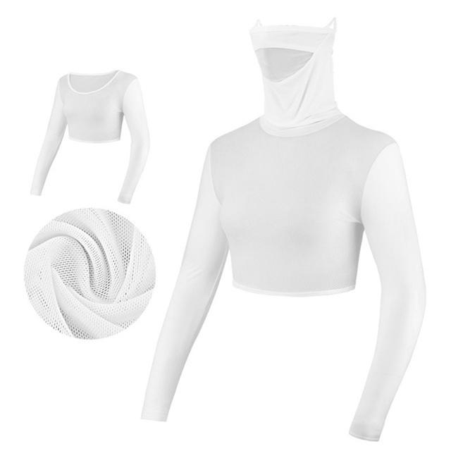 PGM Womens Anti-UV Shirts Half-length Long Sleeve Summer Sunscreen Golf Bingsi Underwear Outdoor Sports Apparel MJ 4