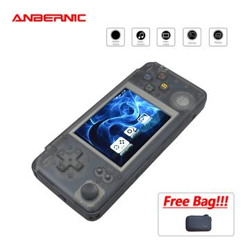 ANBERNIC RS97 gra Retro gra wideo wbudowana 3000 gry symulatory 64 BIT RS-97 przenośny przenośna konsola do gier wyjście telewizyjne prezent tanie i dobre opinie CN (pochodzenie) 3 0 RETRO GAME PLUS RETRO GAME rs-97 DDR2 128M dual 528MHz 3 0 inch 960*480 Black translucent e-book recorder movie music