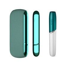 11 Kleuren Cap + Case + Side Voor Iqos 3.0 Cap Magnetische Siliconen Side Cover Voor Iqos 3 Duo Decoratie vervangbare Cover Accessoires