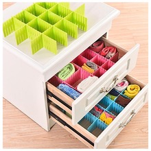Storage Drawer Organizer 4 Pcs/Set Plastic Home Closet Underwear Bra Jewelry Sundries Adjustable Board Box