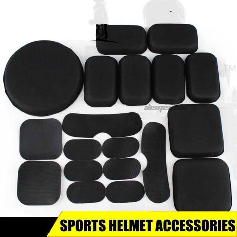 Outdoor Fast Helmet Airsoft Tactical Protective Pad Comfortable Hunting Helmet Accessories Pads Paintball Shooting Helmets Pads