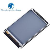 TZT 3,2 дюймовый ЖК TFT сенсорный экран ILI9341 для STM32F407VET6, макетная плата, черный
