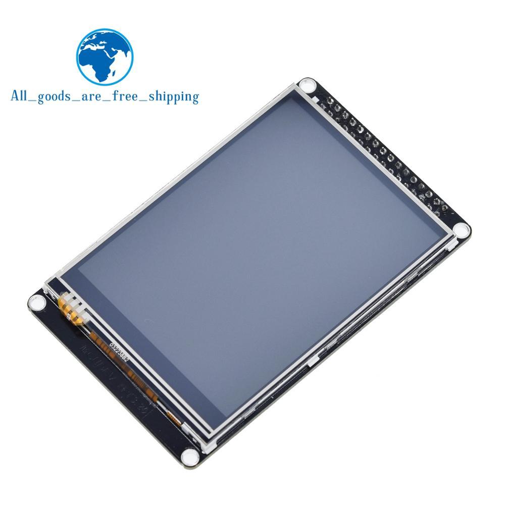 TZT 3.2 cal LCD TFT z ekranem dotykowym odporność ILI9341 dla STM32F407VET6 rozwoju pokładzie czarnyModuły LCD   -
