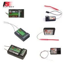 FLYSKY 2.4G IA6 IA6B X6B A8S R6B GR3E R9B X8B iA10B BS6 A3 GR4 RX2A Módulo TX Fli14 + FS2A RC Receptor para i6x i6s Transmissor RC