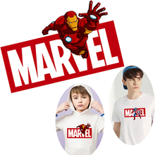 Pulaqi Spiderman Thermal Patch Iron on Transfers For Clothing Cartoon Avengers Stickers Clothes Heat Transfer Patches F