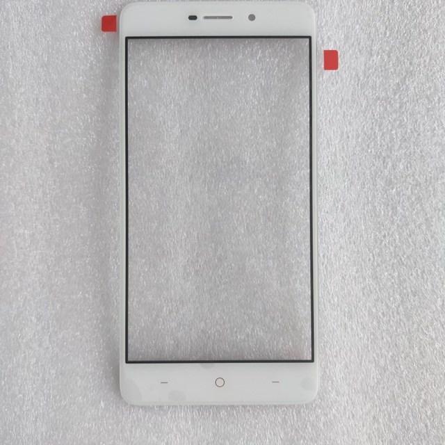 5.0 인치 TP LINK neffos x1 tp902a 핸드폰 전면 외부 유리 렌즈 수리 터치 스크린 외부 유리