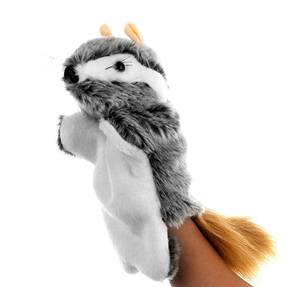 Plush Hand Model Vole Plush Toy Lovely Mouse Animal Doll Plush Sleeve Hand Puppet Storytelling Toy Kids Gift