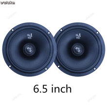 Car audio altoparlante 4 pollici 5 pollici 6.5 pollici van truck car stereo altoparlante coassiale basso pesante auto CD50 Q04(China)