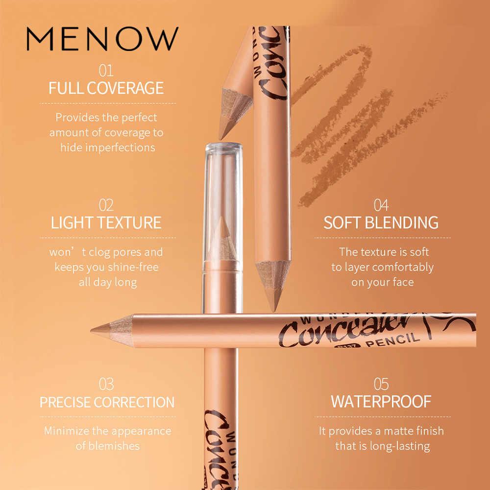 11.11 menow mayne p137 haste de madeira corretivo caneta caneta capa 12 cicatrizes, caneta de cor, caneta de alto brilho