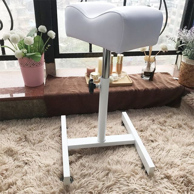 New Foot Bath Pedicure Pedicure Tool Bracket Beauty Massage SPA Chair Nail Stand Soft and comfortable Synthetic Leather 2