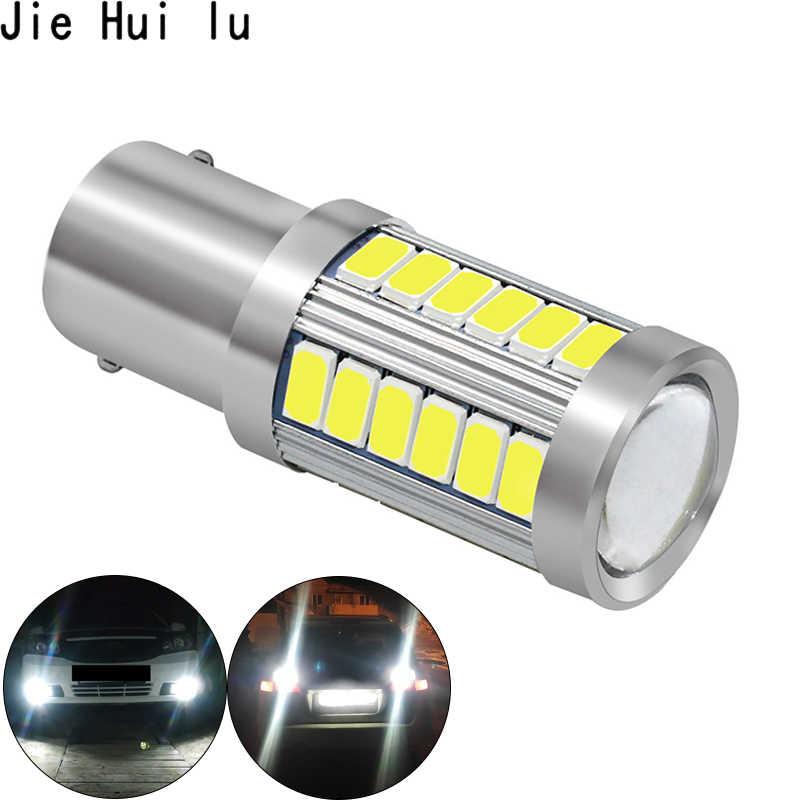 1156 1157 P21/5 W BAY15D Siêu Sáng 33 SMD 5630 5730 LED Đèn Phanh Đèn Sương Mù 21/ 5W Dùng Ban Ngày Đèn Dừng Bóng Đèn LED 12V