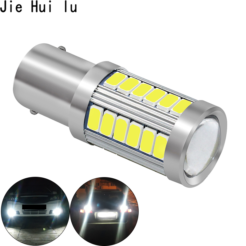 Image 3 - 1156 1157 P21/5W BAY15D Super Bright 33 SMD 5630 5730 LED brake lights fog lamp 21/5w car daytime running light stop bulbs 12V-in Signal Lamp from Automobiles & Motorcycles