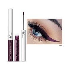 Liquid-Eyeliner-Pen Bright-Colored Waterproof Makeup Eyes High-Pigmented Matte Colorful