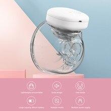 Youha bomba de mama elétrica mão livre portátil elétrico wearable copo de mama bpa-livre conforto amamentação coletor de leite