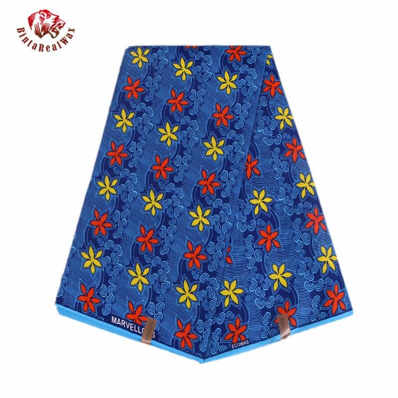 New-Polyester-Wax-Prints-Fabric-2019-Ankara-Binta-Real-Wax-High-Quality-6-yards-African-Fabric