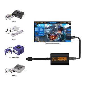 Image 3 - HDMI compatible Converter For NS Switch Adaptor Hub 4K HD Transfer For Nintendo 64 Switch Game Console Splitter Game Accessories