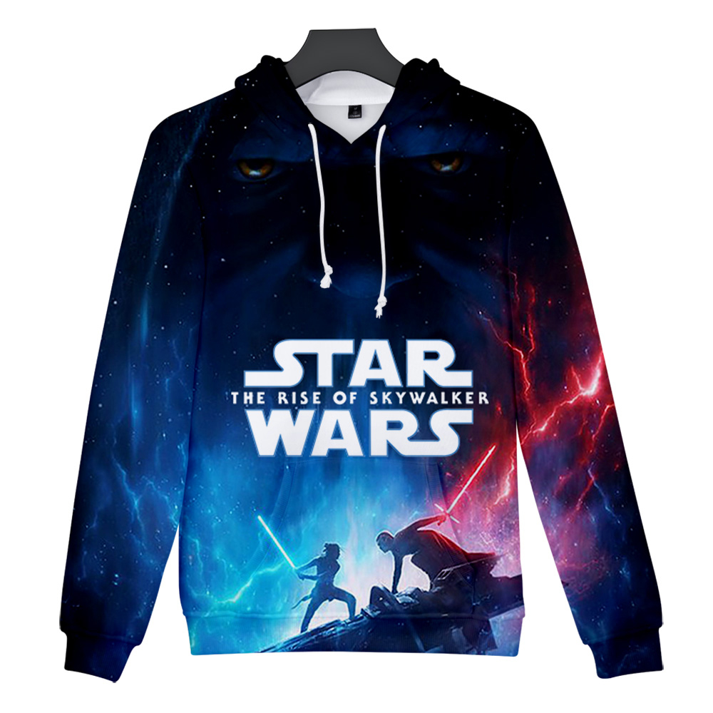 Star War The Rise Of Skywalker 3D Print Hoodies Casual Style Clothes Women/men Casual 3D Clothes Slim Hot Sale Comfatable Hooded